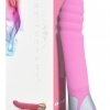 Zest - ribbed G-point vibrator - pink (Vibe Therapy)