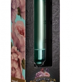 Velvet touch - mini rod vibrator (10 rhythm) - green