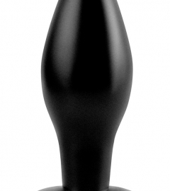 analfantasy Medium plug - silicone anale dildo - medium (black)