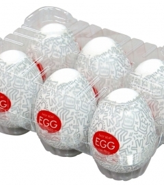 TENGA Egg Keith Haring Party výber (6ks)