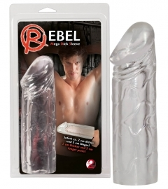 You2Toys Rebel - návlek na penis (19 cm)