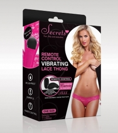 Vibrating Knickers With Remote Control - Pink