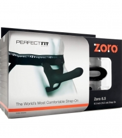 Perfect Fit - Zoro Strap-On 16,5 cm Strap-On Black