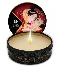 Shunga - Massage Candle Strawberry 30 ml