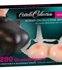 Strap-on Silicone Breasts