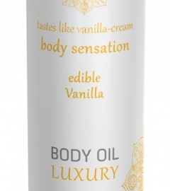 Shiatsu Luxury - Edible Massage Oil - Vanilla (75ml)