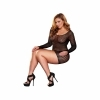 Lapdance - Center Stage Mini Dress Black Plus