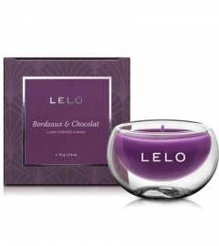 LELO Bordeaux and Chocolat luxury scented candle (70g)