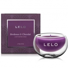 LELO Bordeaux and Chocolat luxury scented candle ...