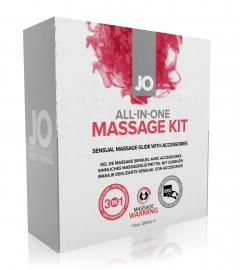 SYSTEM JO - ALL-IN-ONE MASSAGE KIT