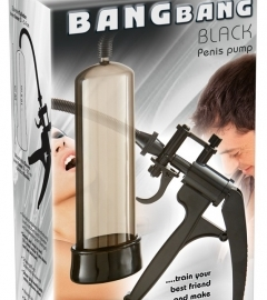 You2toys Bang Bang - Scissor Penis Pump (Black)