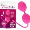 You2Toys Silicone Love Balls - geisha duo (111g) - pink