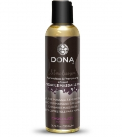 DONA Kissable Massage Oil Chocolate Mousse - masážny olej čokoláda (110ml)