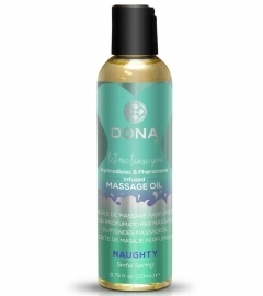 DONA Scented Massage Oil Sinful Spring - masážny olej (110ml)