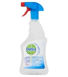 Dettol - antibacterial surface cleaning spray (500ml)