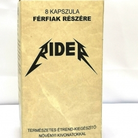 Rider - natural dietary supplement for men (8pcs)