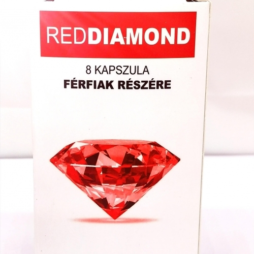 Red Diamond - natural dietary supplement for men (8pcs)