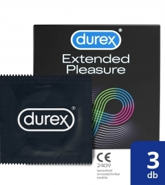 Durex Extended Pleasure - kondómy (3ks)